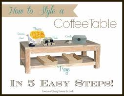 Style A Coffee Table How To Style A Coffee Table In 5 Easy Steps Coffee Living Rooms