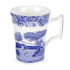 spode blue italian seconds mug set of 4 spode uk