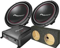 pioneer photo box pioneer dual 12 1600 watt bass package with box santa clarita