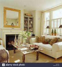 interiors traditional living rooms fireplaces stock photos
