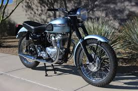 wayne u0027s triumph motorcycles our 1956 tiger t110 is now on display