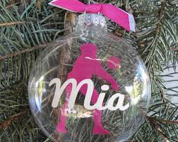 personalized mastiff christmas ornament