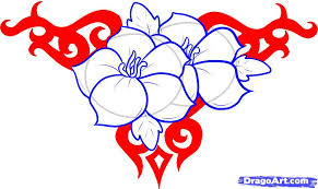 Flowers Designs For Drawing How To Draw Flower Designs Step By Step Tattoos Pop Culture