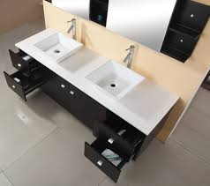 72 Bathroom Vanity Double Sink by Virtu Usa Md 409 S Es Clarissa 72 Inch Wall Mounted Double Sink