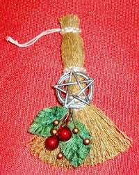 pagan wiccan spiral yule goddess handcrafted altar figure yule