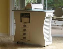 scrapbooking cabinets and workstations scrapbook island scrapbooking storage organizer desk cricut