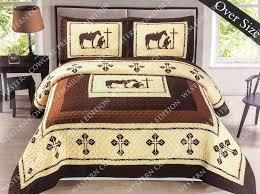 Oversized Quilted Bedspreads Western Quilt Ebay