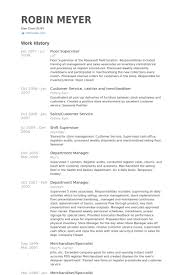 supervisor resume exles 2012 supervisor resume exles 2012 66 images resume objective