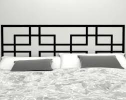 Vinyl Headboard Decal by Designer Vinyl Wall Art Decals By Potandkettlestudios On Etsy