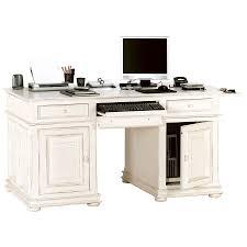 bureau informatique bureau informatique 2 tiroirs 2 portes blanc interior s