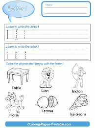 26 preschool letter writing worksheets with coloring pages