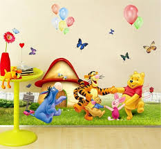 Decoration For Kids Room by Winnle Pooh Bear Wall Stickers Kids Room Decoration 206 Adesivos
