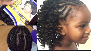 Haircuts For Little Girls Back To Crochet Hairstyle Idea For Little Girls Youtube