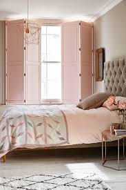 a modern luxe look for a bedroom combine solid panel traditional