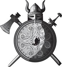 warrior helmet shield crest tattoo design photos pictures and