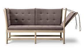 1789 scandinavian 2 seater sofa designed by broge mogensen