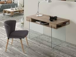 petit bureau en verre bureaux