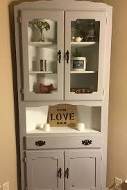 magnificent corner cupboard white and small corner cabinets dining
