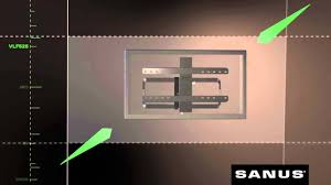 Sanus Simplicity Wall Mount Features And Benefits Of Your Sanus Vlf525 Tv Mount Youtube