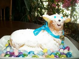 Easter Lamb Cake Decorating Ideas by Michigan Cottage Cook Easter 3 D Lamb Cake