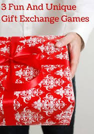 10 Of The Best Gift Exchange Games Gift Exchange Games White