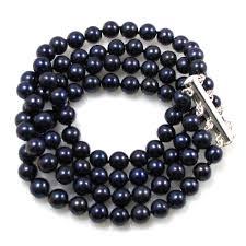 black pearl bracelet images Victoria luxurious 4 strand black pearl bracelet jacqueline shaw jpg