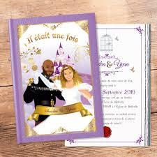 rã ponse mariage faire part de mariage original princesse et conte de fées