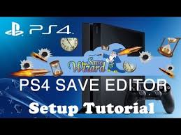 ps4 save wizard editor setup tutorial review youtube