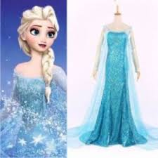 elsa costume womens sparkle frozen snow princess elsa