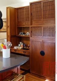 japanese style kitchen hand made japanese style pantry workstation by eastern classics