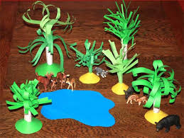 paper crafts for children paper trees