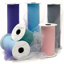 rolls of tulle tulle roll wedding cake topppers