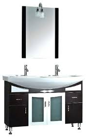 Espresso Double Vanity Vanities Design Element Contemporary Espresso Double Sink Vanity