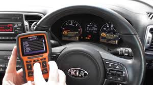 Kia Abs Traction Warning Light Diagnose Reset Nt510 Youtube