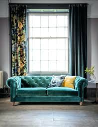 Velvet Armchair Sale Green Velvet Chesterfield Sofa Bed Living Room 9866 Gallery