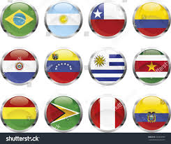 Latin American Flags South American Flags เวกเตอร สต อก 327892505 Shutterstock