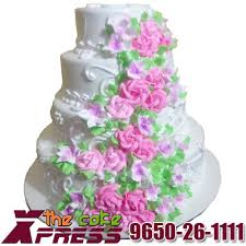 wedding cake online 4 tier vanilla wedding cake online delivery in ghaziabad cake