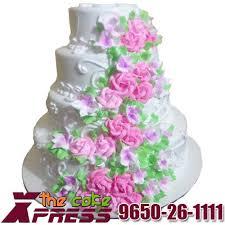 wedding cake online 4 tier vanilla wedding cake online delivery in ghaziabad cake