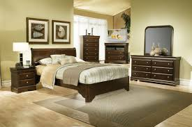 Grand Estates Sleigh Bedroom Set Alpine Furniture Chesapeake 4 Piece Low Footboard Sleigh Bedroom