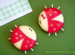 cute food for kids babybel cheese ladybug