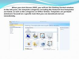 microsoft office access ppt download