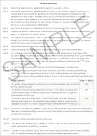 Sle Letter Of Certification For Visa Application Guide To Using Chafta To Export And Import Goods Department Of