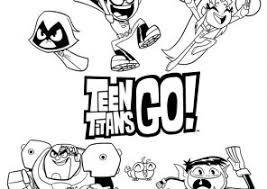 teen titans coloring pages coloring4free