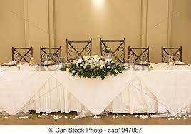 Wedding Table Setting Picture Of Wedding Table Setting Main Table At A Wedding