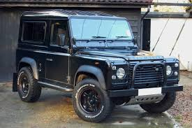 land rover defender matte black land rover defender 90 4 9 v8 new car uk