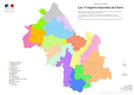 chambre d agriculture de l isere les 17 regions naturelles de l isere png
