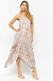 print dress tropical floral print dress forever21