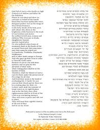 yizkor prayer in holocaust remembrance prayer to be said on thursday april 16th is