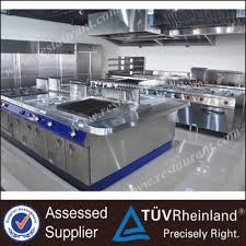 industrial energy saving commercial kitchen equipment customizable