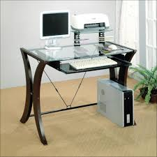 Home Office Desk With Storage by Computer Table Small Corner Desk With Storage Brown Wolid Wood